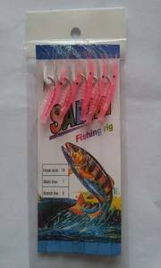Wholesale fishing lures: Fishing Sabiki Rig Lure Hook