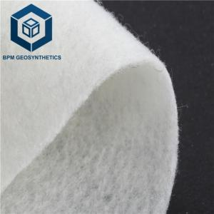 Wholesale staple: 150g/M2Hot-sale High Quality Staple Fiber Needle Punched Geotextile