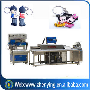 Wholesale baking tunnel oven: Automatic Soft PVC Key Chains Production Line