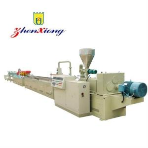 Wholesale textured extruders: Hot Sale Wood-plastic Composite WPC PVC UPVC Profiles Extrusion Line