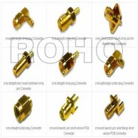 SMA RF Coaxial Connector for Cable or PCB 6