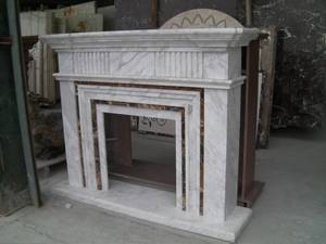 Wholesale marble fireplace: Fireplace Supply Natural Stone Granite Marble Limestone Travertine
