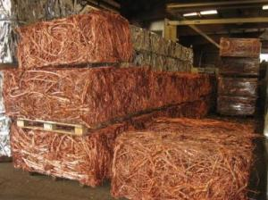 Wholesale metal scrap: 98.67 Purity Copper Scrap Wire Bars, Metals Scrap.