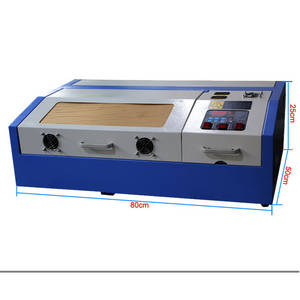 Wholesale Laser Equipment: K40 Laser 300x200mm Mini Laser Engraving Machine 40w