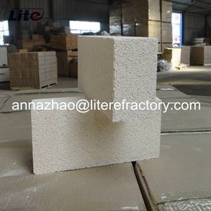 Wholesale refractory brick: JM23 JM26 JM28 Light Weight JM Mullite Insulating Refractory Brick for Furnace Kiln Liner