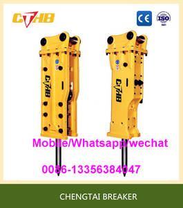 Wholesale hydraulic hammer korea: Top/Open Type Hydraulic Breaker Rock Hammer