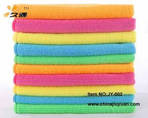 Wholesale terry cleaning cloth: Professional Manufacturer Microfiber Warp Knitted Towel