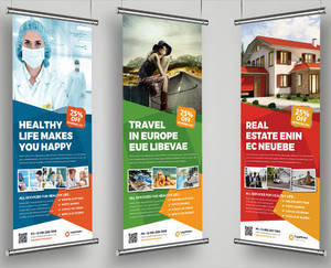 Wholesale rolling: Custom Banner Print / Personalised Roll Up Banner Decor Picture, Photo Source / Printable