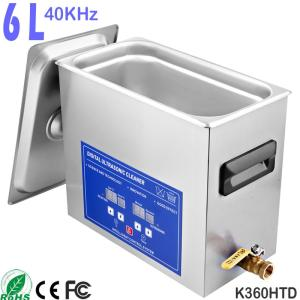 Wholesale Ultrasonic Cleaners: K360HTD 6L Digital Dental Ultrasonic Bath Cleaner for Dentures