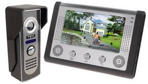 Wholesale video phone: 7 Inch Video Door Phone Doorbell