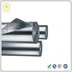 Wholesale foil insulation: High Quality Roof Heat Shield Double Bubble Reflective Foil Insulation