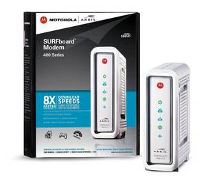 Wholesale motorola: ARRIS / Motorola SurfBoard SB6141 DOCSIS 3.0 Cable Modem - Retail Packaging - White