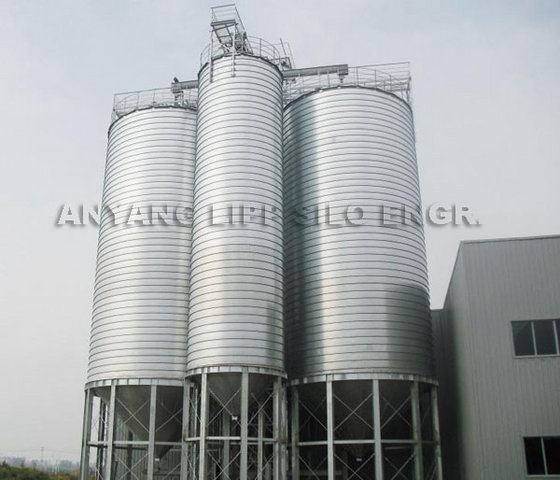 Lipp Silo Steel Silo Grain Silo with Steel Legs