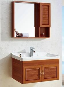 Wholesale bathroom cabinet: Aolaisi A-9160 Reiss Modern Style Solid Wood Color Aluminum Bathroom Cabinet