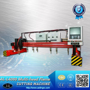 Wholesale gantry cutting machine: Hot Selling Gantry Multi-head CNC Flame Cutting Machine