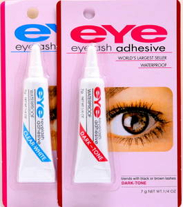 Wholesale fake eyelashes: EYE Brand Eyelash Glue 7g Laminated Tube