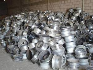 Wholesale alloy wheels: 99.99% Aluminum Alloy Wheel Scrap