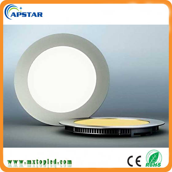 Sell 2017 best seller 6w round led panel light, slim led down light 6w