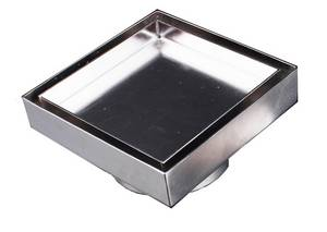 Wholesale Drains: Superdrain Stainless Steel Tile Insert Floor Drain-ST150