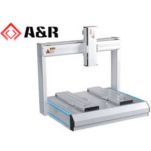 Wholesale robot glue dispenser: 500X400mm 4-axis Double Y-axis Desktop Robot for Glue Dispensing,Screw Tighten,Solder