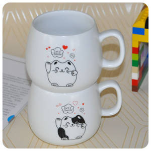 Wholesale express: Cartoon Expression Ceramic Mug