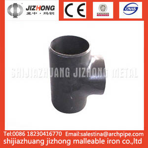 Wholesale butt welding pipe fittings: Butt Welding Pipe Fitting Tees
