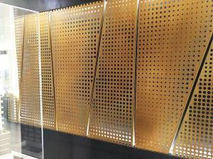 Wholesale interior decoration: Perforated Copper Sheet  Especially Ideal for Interior Decorations