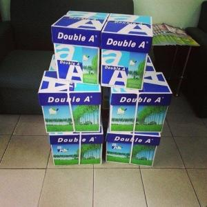 Wholesale a4 paper 80gsm: White 70 75 80 GSM Double A A4 Paper Copy Paper