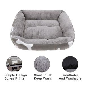Wholesale comfortable: Luxury Square Comfortable PET Beds Dog Sofa PET Bed