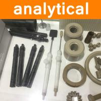 PEEK Parts in Analytical Instruments Industry Part Components Fitting Microwave Dissolver Motor Pump