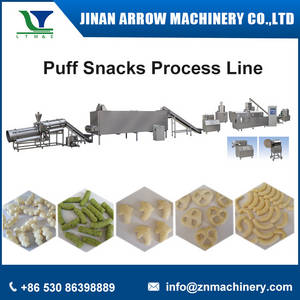 Wholesale Food Processing Machinery: Inflating Snacks Process Line