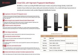 Wholesale fingerprint lock: Digital Door Lock with Fingerprints