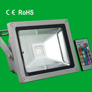Wholesale rgb led flood lights: LED Bulb Downlight Spotlight RGB-FL-10W Floodlight Panel Light 7W