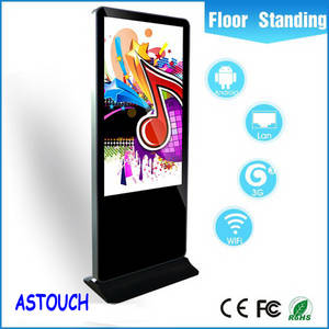 Wholesale digital totem: 42 Floor Standing/Wall Mounted Shopping Mall Advertising Player / Digital Signage /Kiosk Totem