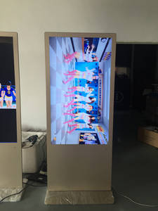 Wholesale oem memory card: Floor Stand Wifi 32 Inch LCD Advertising Touch Screen Digital Signage Totem Price