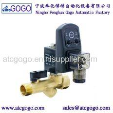 Wholesale mechanical valves: 2 Way Brass Electro Mechanical Water Valve Pipe Timer for Drain Valves 12v 24v 110v 220v