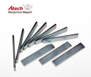 Wholesale magnetic bars: Industrial Magnet 1 Inch X1/4 Inch X1/8 Inch Magnetic Plate Thin Magnet Bar