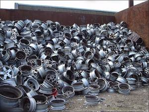 Wholesale alloy: Aluminium Alloy Wheel Scraps