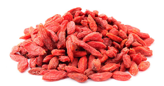 Convertional Goji Berries and Certified Organic Goji Berries