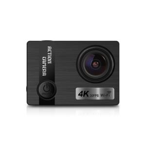 Wholesale waterproof lcd tv: 2018 Ausek Private 4k 30fps 16MP Slim Body Sport Action Camera with Sony Sensor