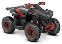 2020 Can-Am Renegade X Xc 1000R Black & Can-Am Red