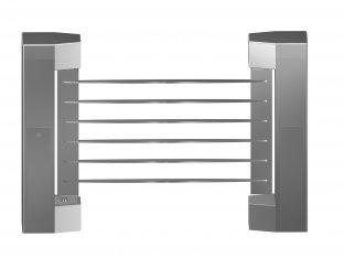 Indoor 180 Angle Two-way Direction Manual Swing Gate With 304# Stainless Steel Plate