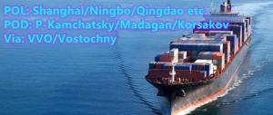 Wholesale soy protein machine: Qingdao To P-Kamchatsky Ocean Freight Fee Russian Far East Line Logistic Agent