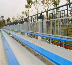 Wholesale fixed seating systems: Ango Metal Structural 3-tier Portable Bleachers, Outdoor Aluminum Bleachers
