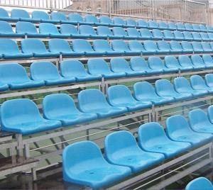 Wholesale phenolic molding: Aneasy Bleacher Grandstand Seat Steel Structure Sports Stadium Aluminum Bench