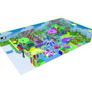 Wholesale carousel indoor: Indoor Playground Emodzy for Children with Toddler Zone