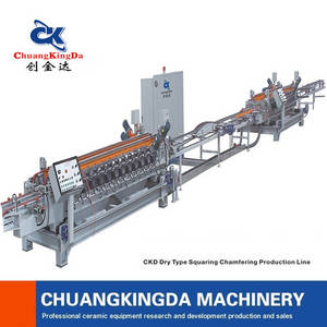 Wholesale Tile Making Machinery: Ckd Dry Type Ceramic Squaring Chamfering Production Line