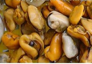 Wholesale mussel meat: Frozen Boiled Mussel Meat