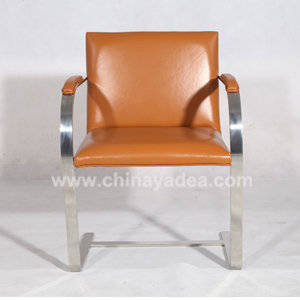 Wholesale upholstered dining chairs: China Brno Chair Reproduction