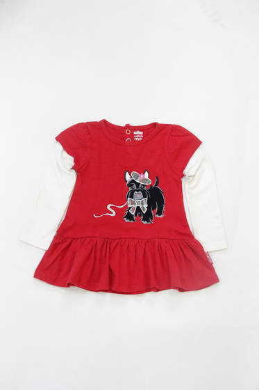 T-Shirts: Sell  knitted baby embroidery long sleeve wholesale